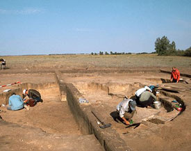 Researchers dig for evidence of early horse domestication in Kazakhstan.
