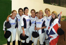 Britain's first ever senior medal-winning team, which  won bronze at the Ladies European Cup 2005.
