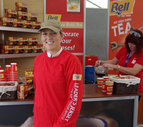 Current Bell Tea series leader Christen Hayde.
