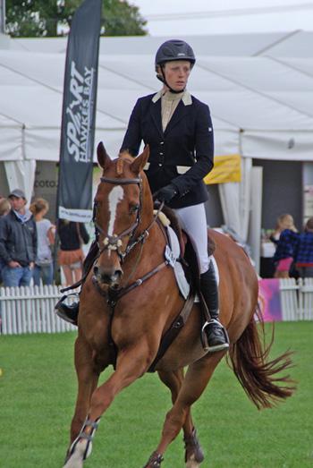 Kaiapoi rider Katie Meredith