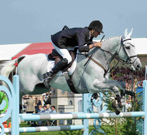 Mark Todd and Land Vision on their way to winning Badminton in 2011.