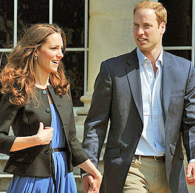 The Duchess and Duke of Cambridge.