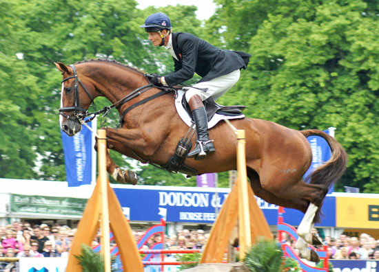 CCI3* winners William Fox-Pitt and Chilli Morning.