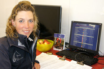 Lucy Jackson (NZ) is rightly pleased on checked the results of the CIC3*