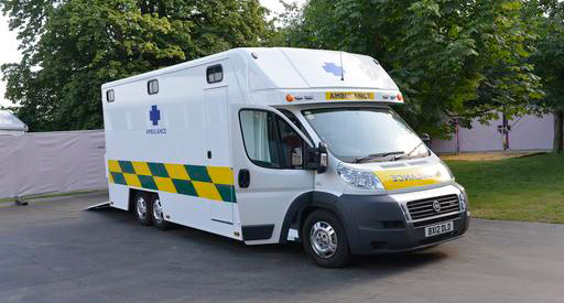 The Olympic equine ambulance, which is one of only three such vehicles in the world, combines the best of British engineering and ingenuity with the best in horse welfare.