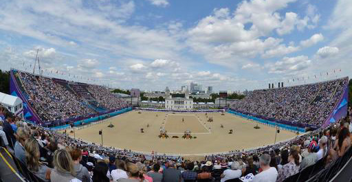 The Olympic arena at Greenwich