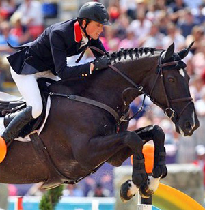 Britain's Ben Maher and Tripple X, who finished ninth equal.