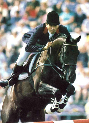 Pierre Durand and Jappeluop at the 1988 Seoul Olympics.