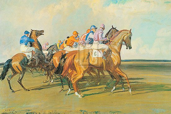 munnings-under-starters-orders
