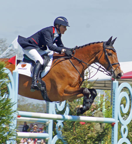 Mary King (GBR) on Imperial Cavalier