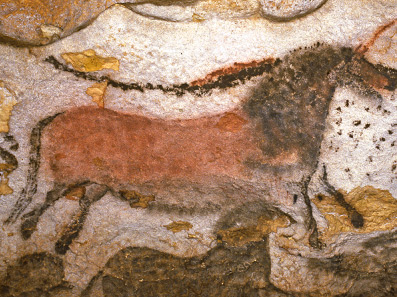 From the caves at Lascaux
