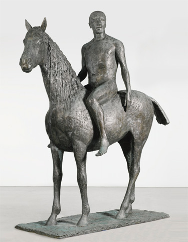 Horse and Rider, by Dame Elisabeth Frink