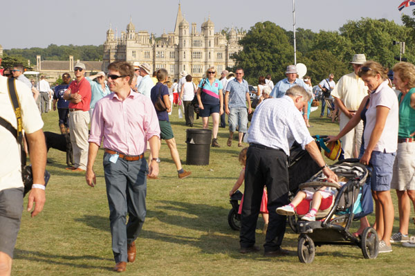 Big crowds at Burghley