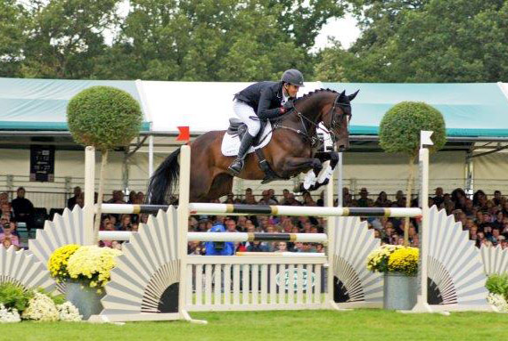 Burghley winner Jock Paget and Clifton Promise.