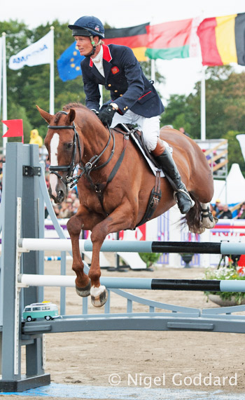 Bronze medalists William Fox-Pitt and Chilli Morning.