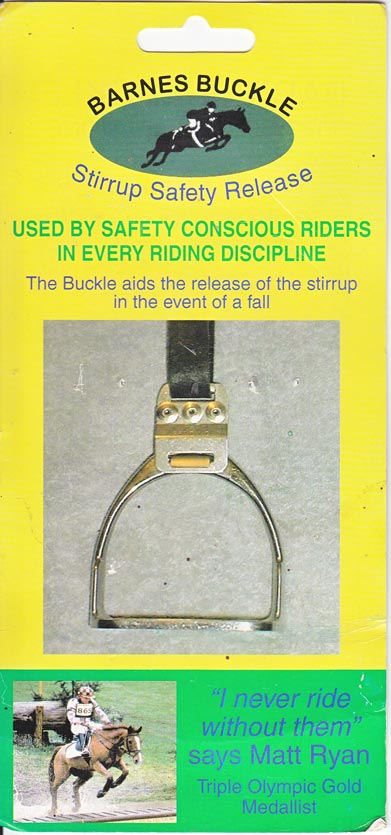 Barnes Buckle information