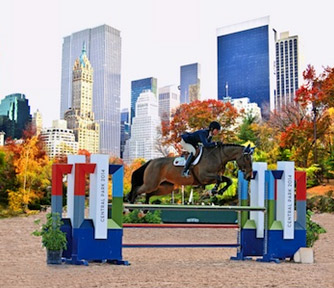 Showjumping is coming to Central Park in New York later this year.