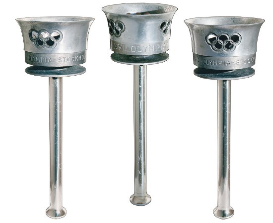 Stockholm 1956 Olympic torches are expected to fetch $US175,000 at auction in the US.