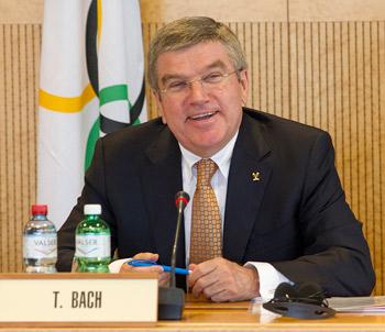 IOC President Thomas Bach.  © IOC