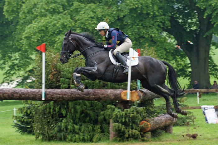 Aoife Clark (IRE) and Vaguely North (4th). © Steph Freeman