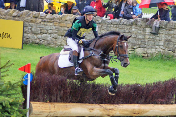 CCI3* under-25 leader Tom Jackson (GBR) and Waltham Fiddlers Find.