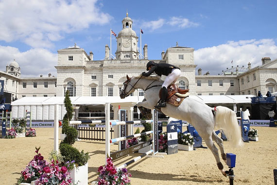 London's Horse Guards Parade Ground provided one of the most spectacular backdrops ever seen on the Global Champions Tour.
