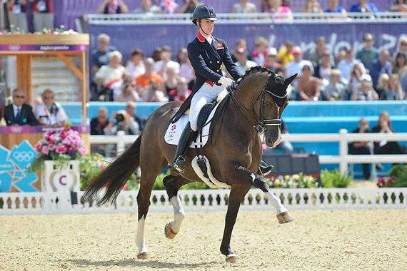 Freestyle stars: Charlotte Dujardin and Valegro, Olympic and European champions, will be aiming for world honours to complete the hat-trick at the Alltech FEI World Equestrian Games 2014 in Normandy next week.