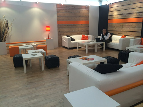 Orange's Chill Out zone will be the place to, well, chill out.