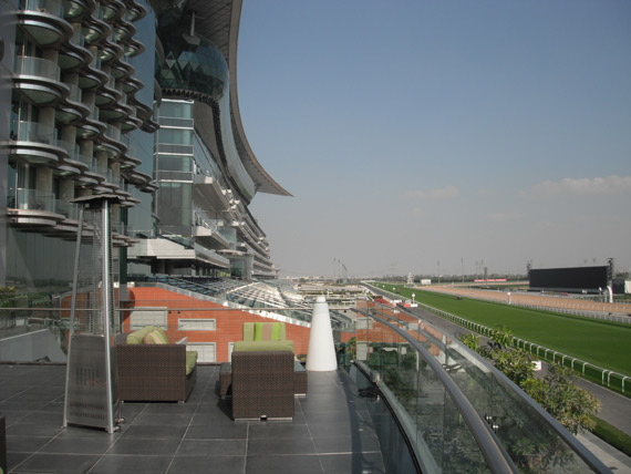 Dubai's spectacular Meydan racecourse.