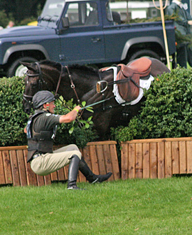 Experienced eventing riders learned about minimising risk over time, an Australian study has found.