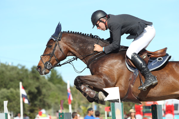 The CSI3* Francisco Moura Grand Prix was won by Ireland's Dermot Lennon and Loughview Lou-Lou.
