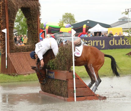 Harry Meade and Vrolijk, CCI2* Tattersalls Horse Trials. Jane Thompson