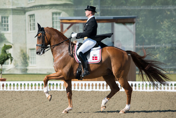 Anders Dahl and Wie-Atlantico de Ymas led the Danish team to victory in the final Nations Cup dressage competition, at Hickstead in Britain on Sunday.