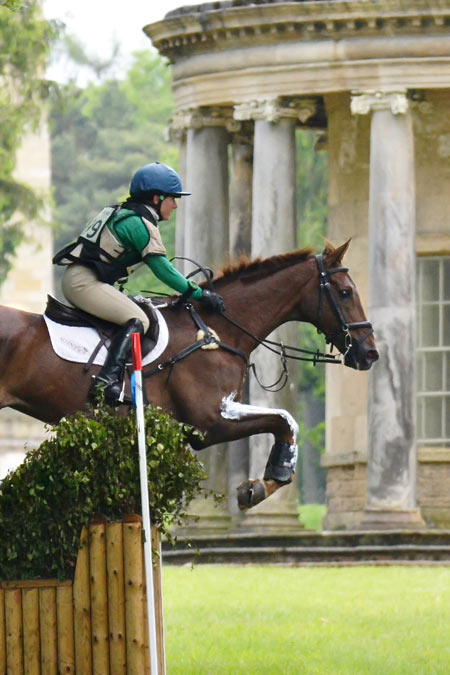 Ellie Parker's picture of Alex Postolowsky and Islanmore Ginger will grace the cover of the 2016 Bramham Horse Trials programme.
