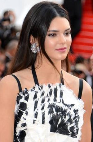 Kendall Jenner at the Cannes Film Festival. Photo: Georges Biard CC BY-SA 3.0, via Wikimedia Commons