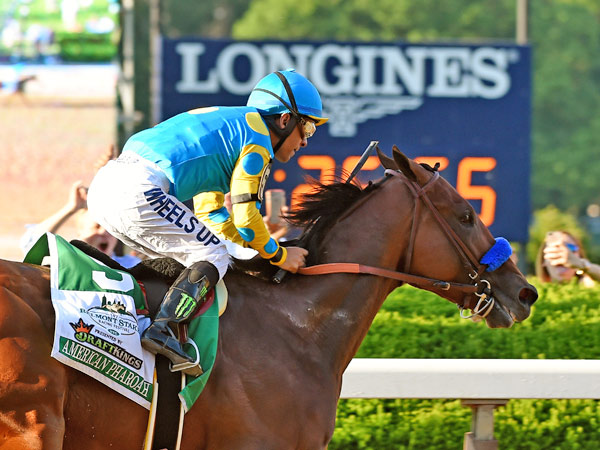 American Pharoah has been named both US Horse of the Year and the Longines World's Best Racehorse for 2015.