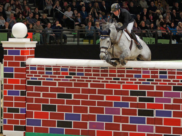 Shane Breen and Gotti Van Paemel in the puissance.