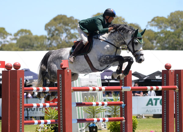 Boosted by four wins partnering the stallion Cera Cassiago, Chris Chugg topped the FEI World Cup Jumping 2015/2016 Australian League and qualified for next month's Final in Gothenburg, Sweden.