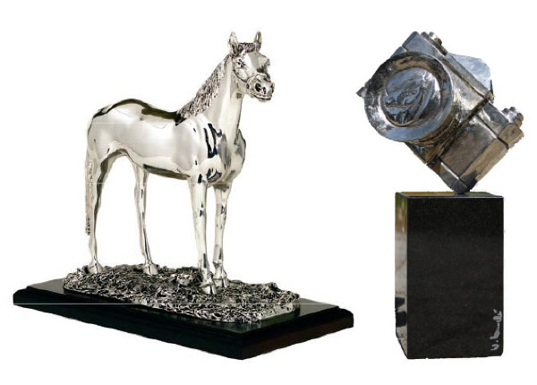 "Aachen's ""Silver Camera"" for the Best International Equestrian Photograph"