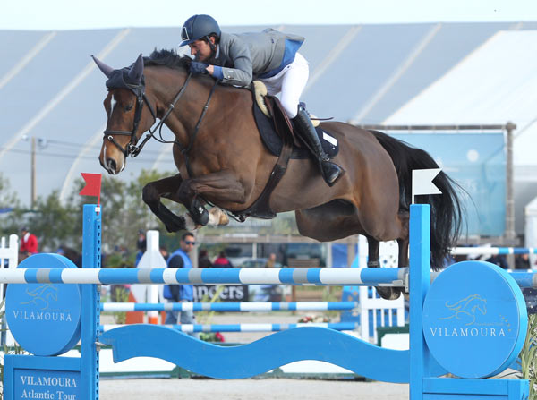 Matteo Zamana and Ramita Mail jumped to victory on Sunday in the 2* International Grand Prix in the Vilamoura Atlantic Tour.