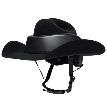 The Resistol Ridesafe hat.
