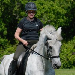 She's 82, he's 20. They're dressage's newest Century Club members