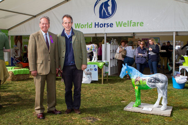 Trade Stands Badminton Horse Trials : Equine charity raises £ thanks to badminton horse