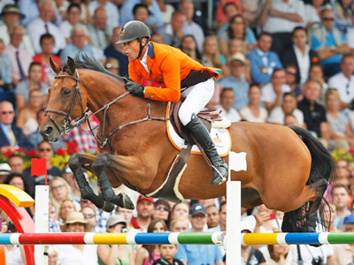 World Champion showjumper up for auction after Rio
