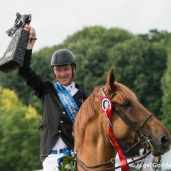 William the third: Another Whitaker wins Hickstead's famous Derby