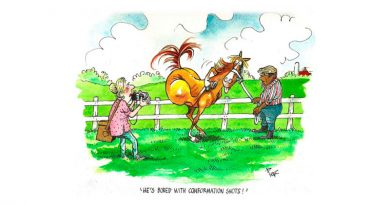 """Honor for famed horse racing cartoonist """"Peb"""""""