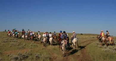 Riders on this year's Chief Joseph Ride reached the end of the trail, a 13-year odyssey. © Kristen Reiter, courtesy of the Appaloosa Horse Club