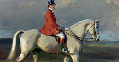 Half-million price tag expected for Munnings' grey hunter