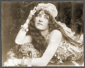 Nan Aspinwall as the Oriental character she portrayed known as Princess Omene.