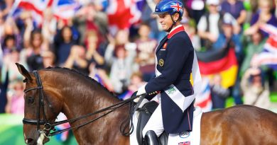 Carl Hester and Nip Tuck, pictured at the 2014 World Equestrian Games in France.